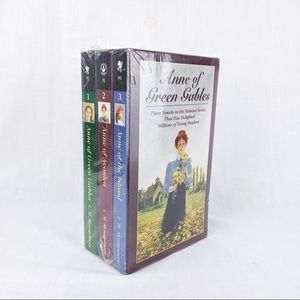 NWT Anne of Green Gables Book Set, First 3 Books